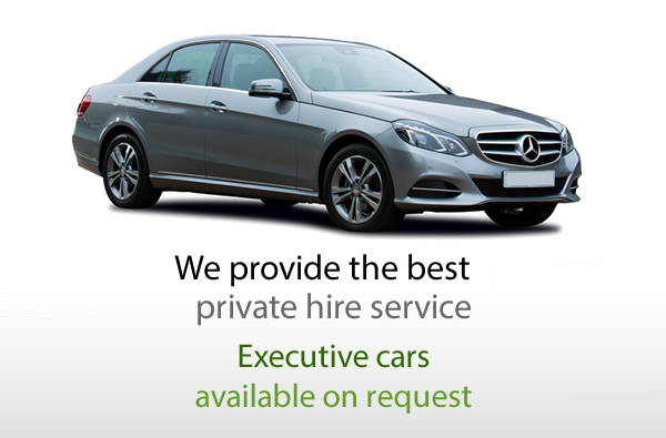 We provide the best private hire service.